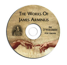 The Works of James Arminius-3 VOL-Bible Commentary-Study-Calvinism-CD eBook PDF