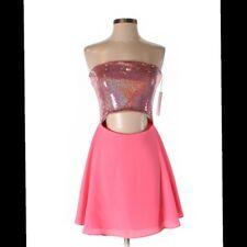 Naven Cocktail Strapless Dress Size 4 Retail $297