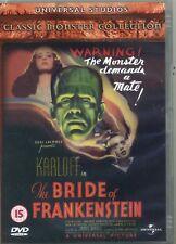 The Bride Of Frankenstein Boris Karloff  New Sealed  DVD