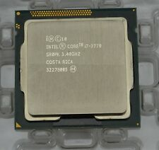 Intel i7-3770 Quad Core (SR0PK) 3.40 GHz FCLGA1155 Ivy Bridge Desktop Processor