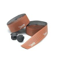 DEDA LEATHER PADDED HANDLEBAR BAR CORK TAPE   BROWN