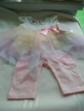 BONNIEJEAN,BONNIE BABY DRESS/LEGGING SET,NWT AGE 6-9 MONTHS