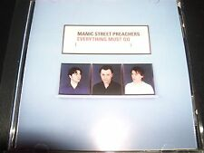 Manic Street Preaches Everything Must Go (Australia) CD