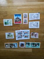 Cambodia Hong Kong Thailand India Tanzania Russia postage stamps