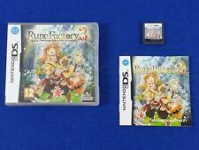 ds RUNE FACTORY 3 A Fantasy Harvest Moon Lite DSi 3DS REGION FREE PAL UK English