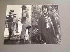 CHAPEAU MELON ET BOTTES DE CUIR (The AVENGERS) : MONTAGE 2 PHOTOS 18x24cm