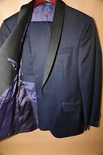 #165  Ted Baker 'Josh' Trim Fit Navy Shawl Lapel Tuxedo Size 44 R $ 1,095