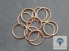 10x anillo obturador. aceite mag. para Alfa Romeo, Fiat, Ford, ope 22 x 27 x 2 mm