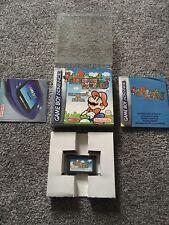 Super Mario Advance Mario Bros 2 Gameboy Advance SP Game Boxed