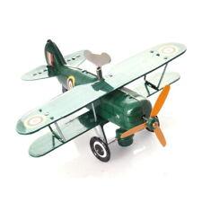 Doppeldecker, Modellflugzeug – Grün