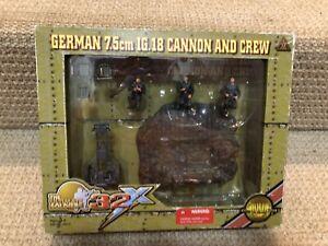 Ultimate Soldier 1:32 German 7.5cm IG.18 Cannon & Crew, No. 20074