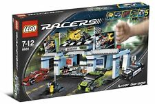 Lego 8681 Racers Tuner Garage City Drag Street Racing New Sealed
