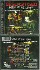RARE / CD - DESENSITISED : VIRUS OF VIOLENCE / HEAVY METAL / HARD ROCK