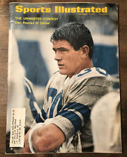 1967 SPORTS ILLUSTRATED Magazine Dallas COWBOYS Dan Reeves Vintage