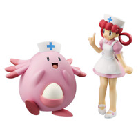 Megahouse G.E.M. Pokemon Nurse Joy & Chansey GEM PVC Figure from Japan