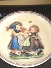 "Hummel, Goebel 2nd Edition Anniversary Plate ""Spring Dance"" 1980, Original Box"