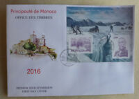 2015 MONACO INT. STAMP EXHIBITION MONACOPHIL MINI SHEET FDC FIRST DAY COVER