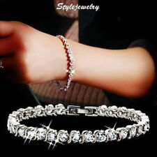 Crystal Unbranded Rhodium Fashion Bracelets