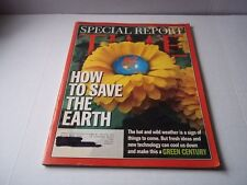 How to Save the Earth. Time Magazine. Aug. 26, 2002. Pre-owned.