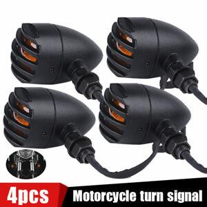 Motorcycle Bullet Brake Running Turn Signal Tail Light For Bobber Chopper Racer