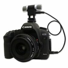ODM-3 Pro Mikrofon für DSLR (Kabel + Mic) kompatibel mit Kanone Nikon Sony