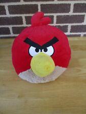 "Rovio Red Angry Bird 10"" Plush Stuffed 2010 No Sound"