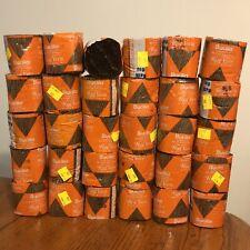 Vtg Lot 30 Nos Bucilla 100% Acrylic Latch Hook Rug Yarn Walnut Brown