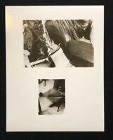 Silke Grossmann, Motiv V, 1976,  Photographien, 1981, handsigniert und datiert