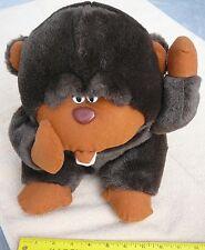 """Brown plush ape monkey 10"""""""