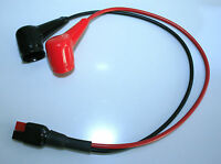 GOLF BATTERY LEAD - RED BLACK ANDERSON TORBERRY CONNECTOR  - 400mm LONG