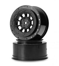 JConcepts Hazard SC Black Rims for ASC SC10RS 2WD or SC10 4WD (2) # 3344B Wheels