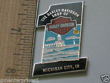 Harley Davidson Shop Pin Harley Dealer Michigan City IN Motorcycle Pin (#341)