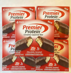 Premier Protein Bars ~ Chocolate Caramel ~ 60 Bars ~ 20g Protein ~ BB 05/2021
