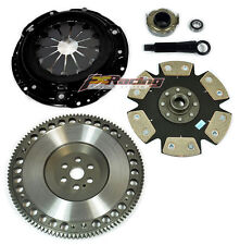 FX Xtreme Stage 4 Clutch Kit &Flywheel for 92-05 Honda Civic D16Y7 D16Y8 D16Z6