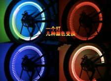 4 X COLOR-CHANGING LIGHTS 4BIKES CARS BICYCLES SAFETY REFLECTORS KIDS ADULTS