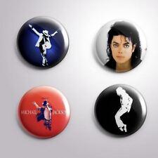 4  MICHAEL JACKSON BAD- Pinbacks Badge Button 25mm 1''