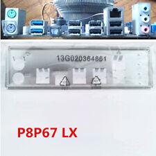 I/O IO Shield Original For Asus P8P67 LX Rear Baffle Backplate Motherboard