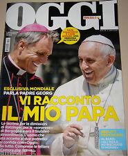 OGGI 2015/13=PADRE GEORG=POPE PAPA FRANCESCO=MIRIAM LEONE=RICCARDO ROSSI=