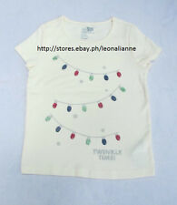 70% OFF!AUTH BABY GAP GIRLS' LIGHTS GLITTER GRAPHIC TEE 4 YRS BNEW US$12.99+