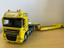 WSI DAF XF AND LOWLOADER 1:50 SCALE YELLOW