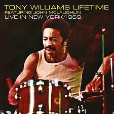 TONY WILLIAMS FEAT. JOHN MCLAUGHLIN. - Live In New York 1969. New CD + Sealed.