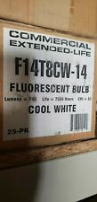 F14T8CW-14 FLUORESCENT BULB COMMERCIAL EXTENDED LIFE F14 T8 COOL WHITE 14W
