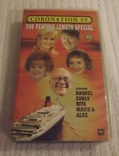VHS VIDEO TAPE  *** CORONATION STREET - THE FEATURE LENGTH SPECIAL *** (1995)