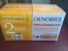 LOT 2 BOITES OENOBIOL SOLAIRE INTENSIF PREPARATEUR PEAU Normale