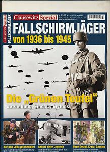 Clausewitz Spezial 33 - Fallschirmjäger von 1936 bis 1945