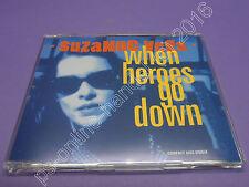 "5"" CD SINGLE Suzanne Vega-when Heroes Go Down (j-171) 4 tracks GERMANY 1992"