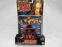 WCW NWO Kevin Nash with Referee Action Figures NIB Smash N Slam Wrestlers NIP