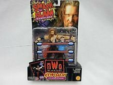 WCW NWO Kevin Nash with Referee Action Figures NIB Smash N Slam Wrestlers NIP