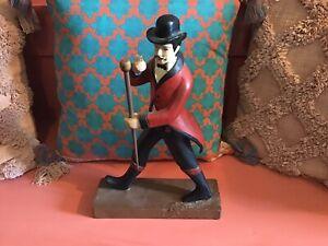 Johnny Walker Whiskey Wooden Figure for Man Cave Bar