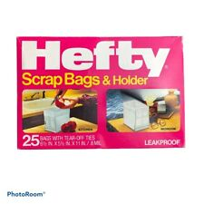 Hefty Scrap Bags With Holder Vintage 1984 25 Bags Included